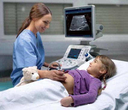Обследование детей в лечебно-диагностическом центре ЦМЭИ