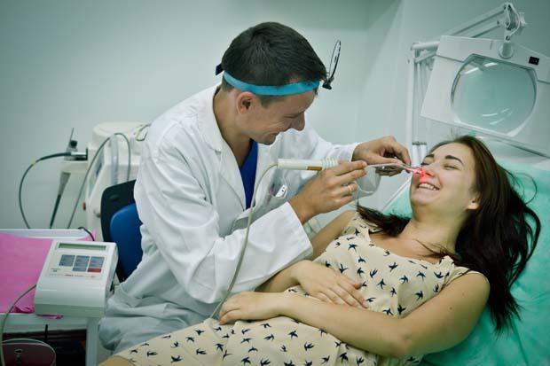 Лечение лазером в Харькове