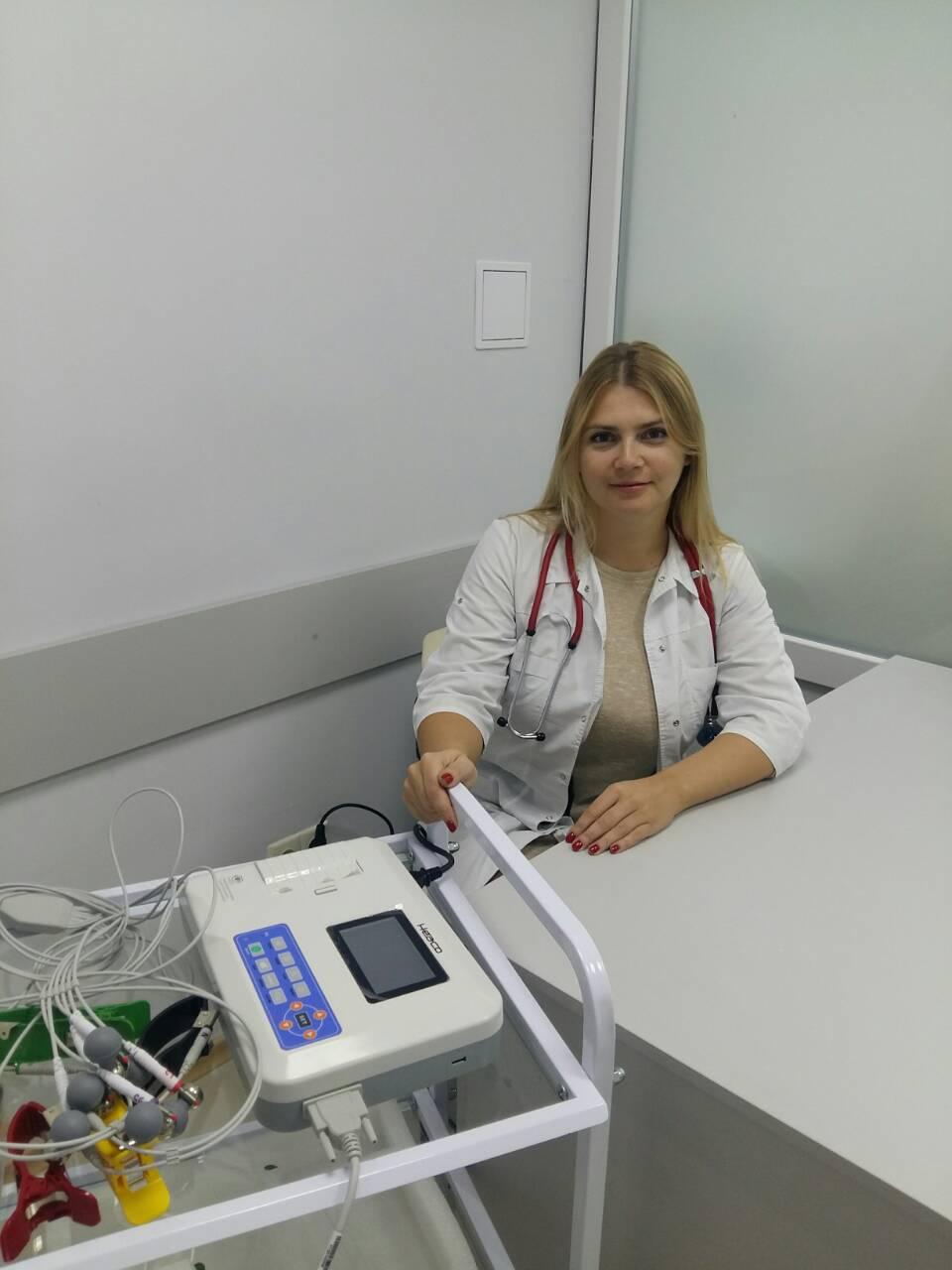 Тарахно Любовь Ивановна, кардиолог