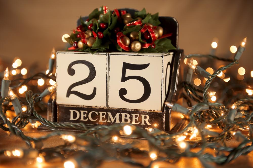 25 декабря выходной!